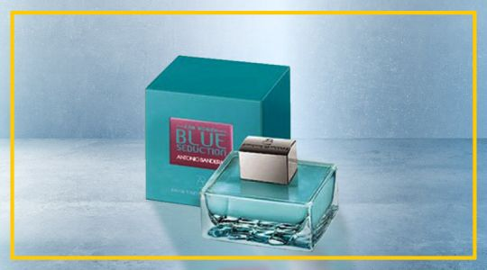 ANTONIO BANDERAS BLUE SEDUCTION WOMEN EAU DE TOILETTE 50ML