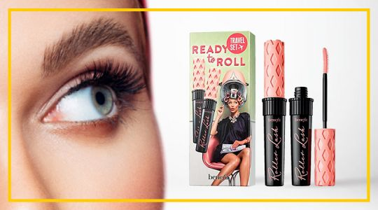 Benefit Ready to Roll Super-curling and lifting Mascara 2X 8.5g Travel Set