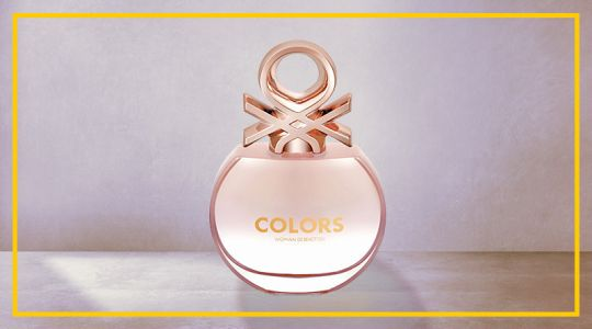 COLORS DE BENETTON ROSE EAU DE TOILLETTE 80ML