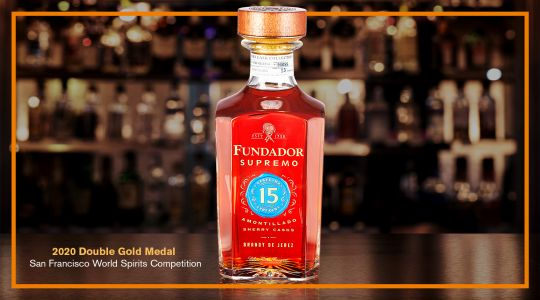 Fundador Supremo 15 - Gold Medal Winning Brandy