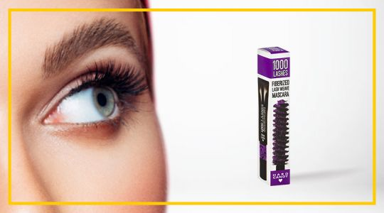 Hard Candy Fiberized Lash Weave Mascara 7.3G - Divine Purple