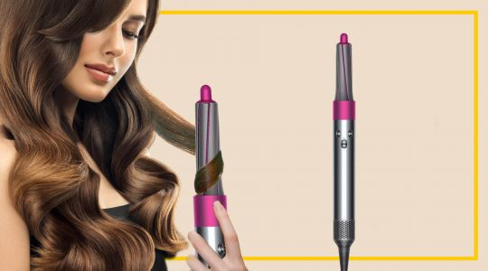 Limited Edition Dyson Airwrap Hair Styler Complete in Fuchsia