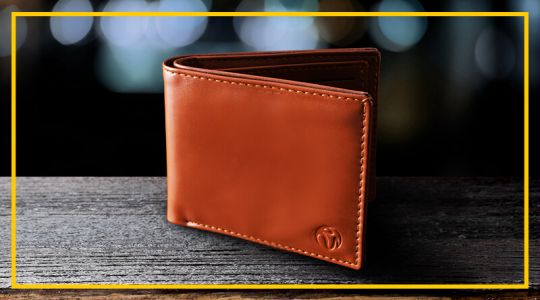 RWM Brown Lucky PU Leather Wallet