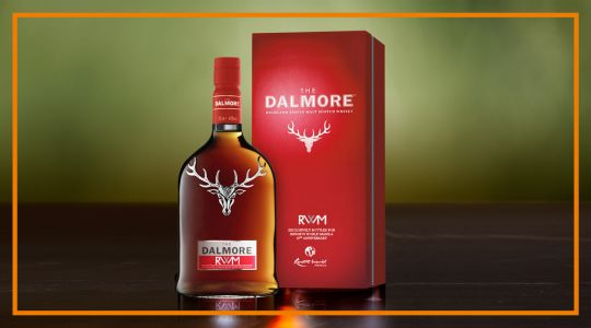 Limited Edition RWM Dalmore Commemorative Single Malt Scotch Whisky with Casa Buenas Pamilya Food Package
