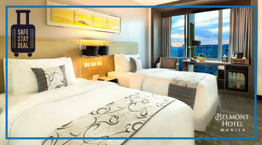 Belmont Hotel Manila Essential Stay Deal with Breakfast, Lunch and Dinner