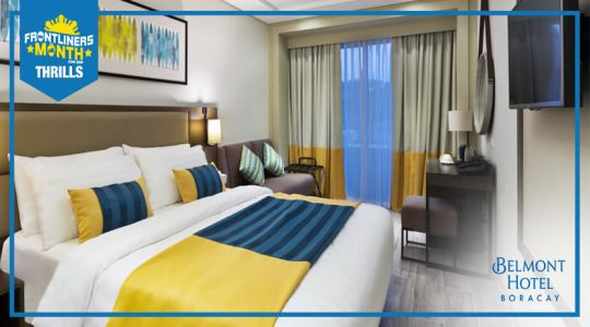 Overnight stay at Belmont Hotel Boracay plus Php 500 F&B credits