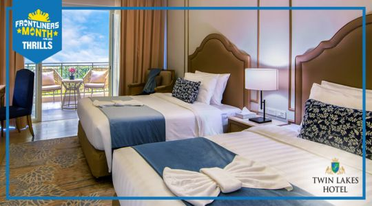 Overnight stay at Twin Lakes Tagaytay plus Php 500 F&B credits